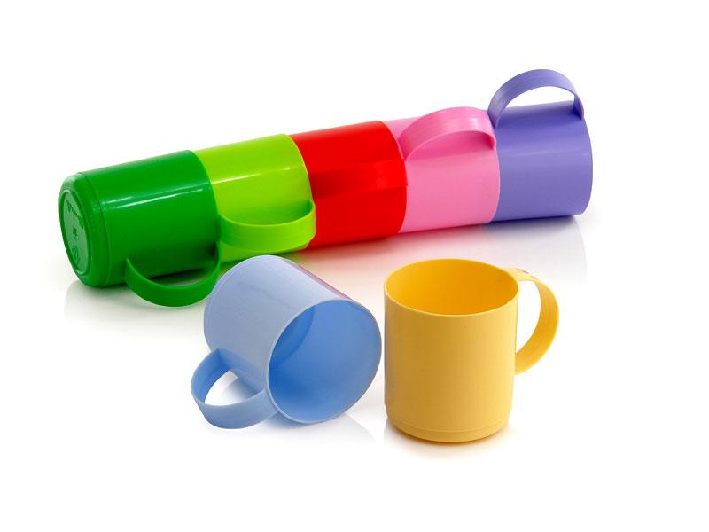 Plastic Mug 0,3 L of Ukrainian production Uniplast